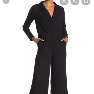 Good Luck Gem NWOT Long Sleeve Collared Jumpsuit
